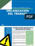 Riesgos Derivados de La Organizacion Del Trabajo