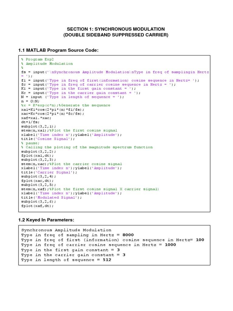 Lab 2 Dsp Upload   Modulation   Oscillation