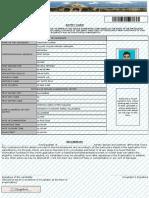 UPLA Admit Card