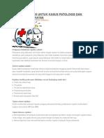 Sistem Rujukan Untuk Kasus Patologis Dan Kegawatdaruratan