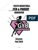 (FINAL) OPEN Official GYB Player & Parent Handbook FALL '16