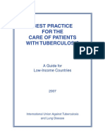 Best Practice for the Care of Patients With Tuberculosis - Uicter 2007