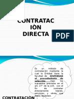 contratacion diirecta