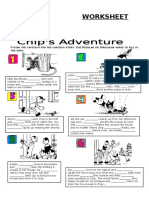 Chips_adventure (Irregular & Regular Verbs)