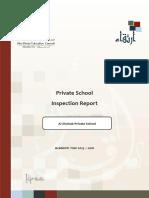 ADEC - Al Shohub Private School 2015 2016