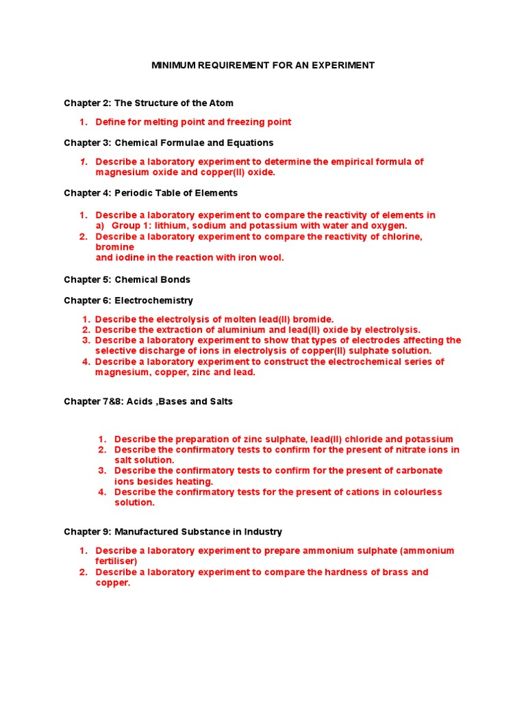 determination of the empirical formula of copper oxide
