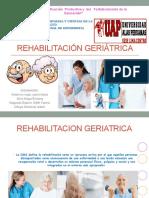 Rehabilitación geriátricaa