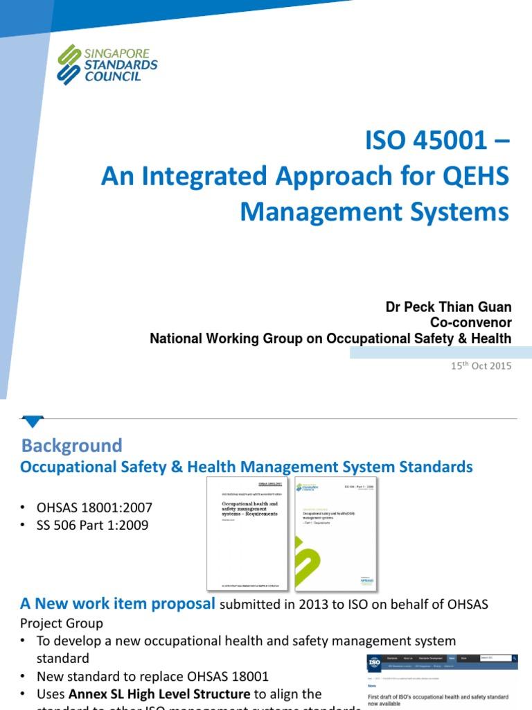iso 45001 awareness course singapore