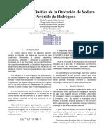 Estudio de La Cinetica de La Oxidacion de Yoduro Por Peroxido de Hidrogeno