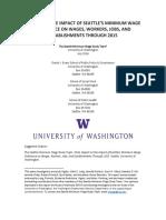 Seattle Minimum Wage Final Report