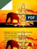 Sabarimala Ayyapa Idol