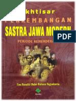 Ikhtisar Perkembangan Sastra Jawa Periode Kemerdekaan