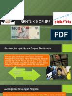 BENTUK KORUPSI GAYUS TAMBUNAN_SAJIDAH PUTRI BAGIAN 3.ppt