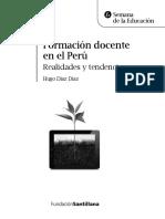 Formación Docente en El Perú Realidades y Tendencias