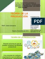Presentacion de Teoria de La Produccion