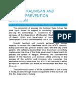 Dengue Narrative Report