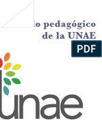 UNAE Modelo Pedagógico