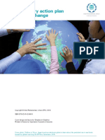 Parliamentary action plan on climate change