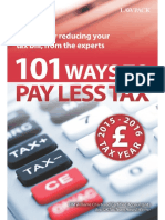 101 Ways to Pay Less Tax 2015_1 - H M Williams Chartered Accounta