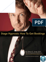 Stage Hypnosis Bookings