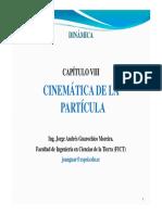 8. ED_Cinemática de La Partícula