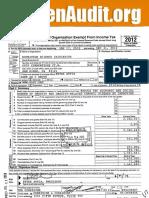 NuSI 2012 Tax Statement