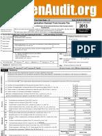 NuSI 2013 Tax Statement