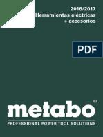 Catálogo Herramientas Eléctricas 2016