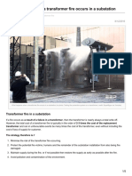 Electrical-Engineering-portal.com-What Happens When a Transformer Fire Occurs in a Substation