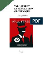 Wall Street Et La Révolution Bolchevique - 1