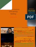 Uncanny Valley- In Depth Analysis