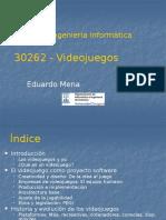 Videojuegos-Intro y Producto Software