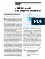 Pumps & NPSH-Avoid Problems