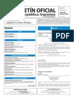 Boletín Oficial de la República Argentina, Número 33.441. 17 de agosto de 2016