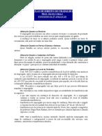 Silvio Silva - Direito do Trabalho I - Apostila