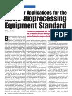 ASME- Bioprocessing Equipment Standard