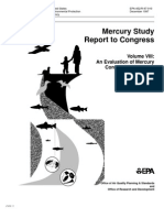 Mercury Study Report to Congress V.8