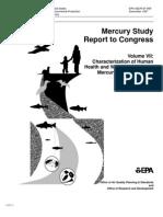 Mercury Study Report to Congress V.7