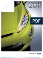 2011 FORD FIESTA brochure