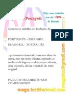 Tradução Espanhol--Português