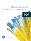 GE Energy_Smallworld Network Inventory Solution for FTTX Operators