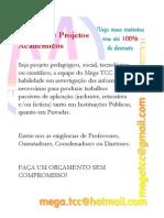 Feitura de Projetos Acadêmicos