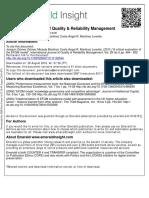 A Critical Evaluation of the EFQM Model