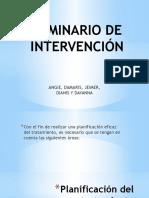 Seminario de Intervención