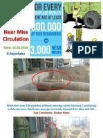 Near Miss Incident Circulation