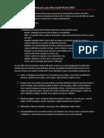 Manual Para Microsoft Word 2007