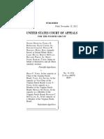 Sharon Burnette v. Helen Fahey, 4th Cir. (2012)