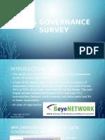 Data Governance Survey