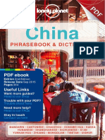 Lonely Planet China Phrasebook & Dictionary (2nd Ed)(Gnv64)