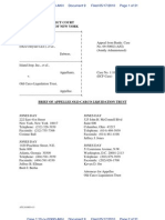 Old Chrysler Response Brief in Chrysler Bankruptcy Case - 5/17/10 -